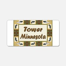 Tower Loon Aluminum License Plate