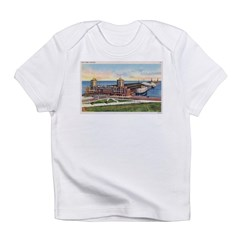 1930's Chicago Navy Pier Infant T-Shirt