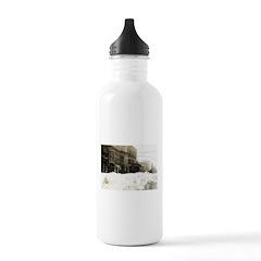 Snowed-in Front Street Water Bottle