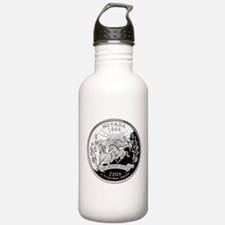 Nevada Quarter Water Bottle