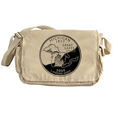 Michigan Quarter Messenger Bag