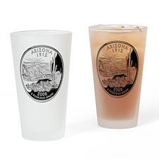 Arizona Quarter Drinking Glass