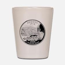 Arizona Quarter Shot Glass