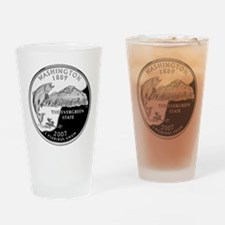 Washington Quarter Drinking Glass