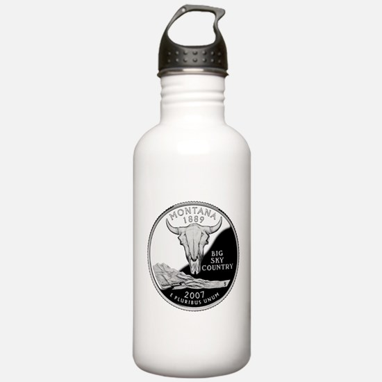 Montana Quarter Water Bottle