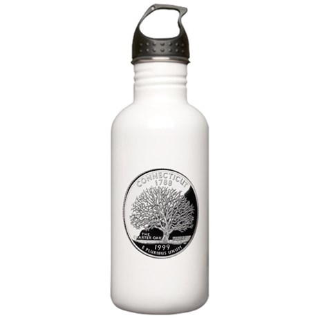 Connecticut Quarter Stainless Water Bottle 1.0L