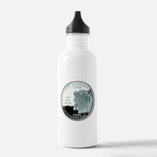 New Hampshire Quarter Water Bottle