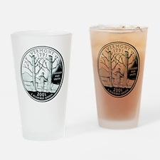 Vermont Quarter Drinking Glass