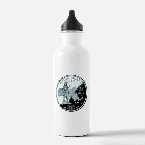 Massachusetts Quarter Water Bottle