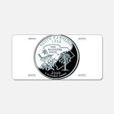 South Carolina Quarter Aluminum License Plate