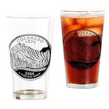 Colorado Quarter Drinking Glass