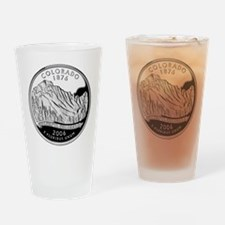 Colorado Quarter Drinking Glass