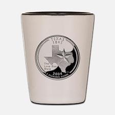 Texas Quarter Shot Glass