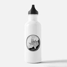 Texas Quarter Water Bottle