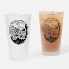 Mississippi Quarter Drinking Glass