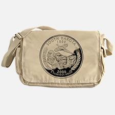 South Dakota Quarter Messenger Bag