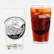 South Dakota Quarter Drinking Glass