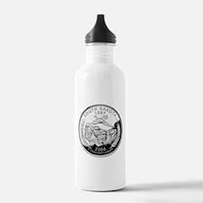 South Dakota Quarter Water Bottle