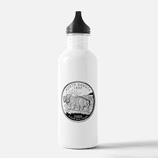 North Dakota Quarter Water Bottle