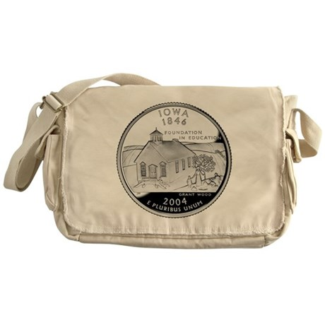 Iowa Quarter Messenger Bag