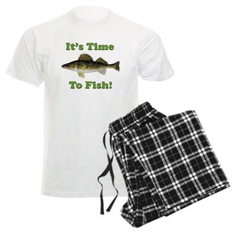 It's Time to Fish Men's Light Pajamas