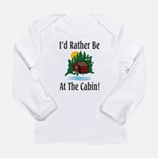 At The Cabin Long Sleeve Infant T-Shirt