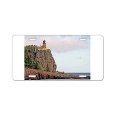 Split Rock Lighthouse Aluminum License Plate