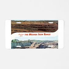 Mesaba Iron Range Aluminum License Plate