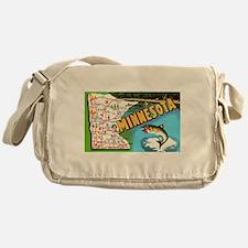Cute Walleye Messenger Bag