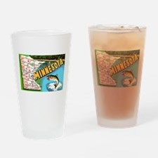 Funny Minnesota Drinking Glass