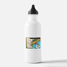 Funny Minnesota Water Bottle