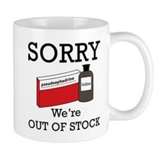 Pharmacy - Out Of Stock Mug