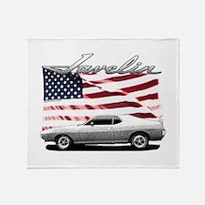 Cute Cars Throw Blanket