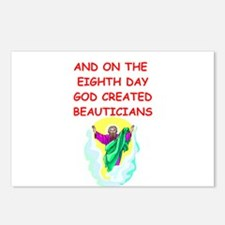beauticians Postcards (Package of 8)