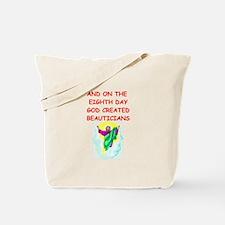 beauticians Tote Bag