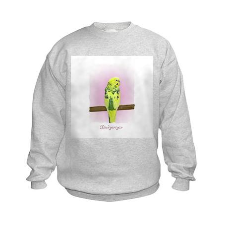 Pied Budgie Kids Sweatshirt