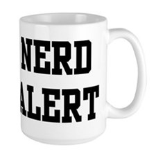 Nerd Alert Mugs