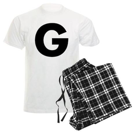 Letter G Men's Light Pajamas