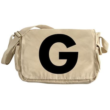 Letter G Messenger Bag