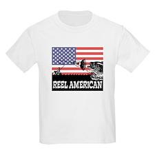 Reel American Fishing Kids T-Shirt