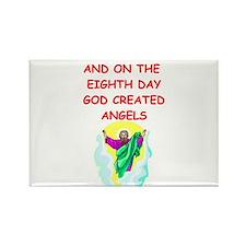 angels Rectangle Magnet