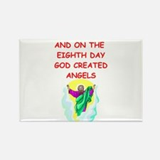 angels Rectangle Magnet