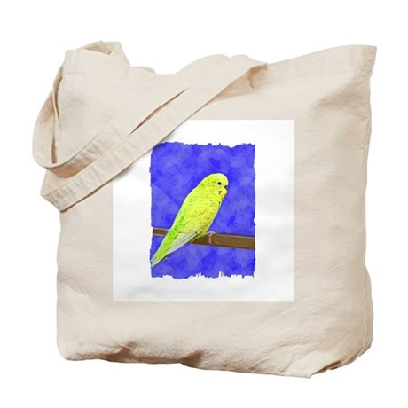 Male Yellow Budgie Tote Bag