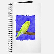 Male Yellow Budgie Journal