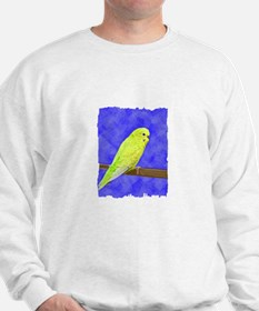 Male Yellow Budgie Sweatshirt