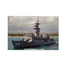 USS MEYERKORD Rectangle Magnet