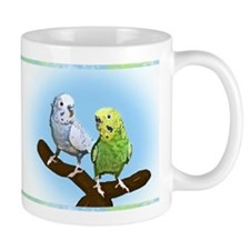 Budgie Pair Small Mug