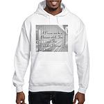 I am Free Hooded Sweatshirt