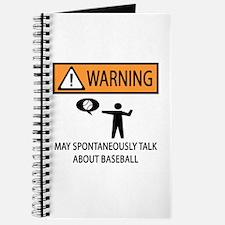 Warning Talks Baseball Journal