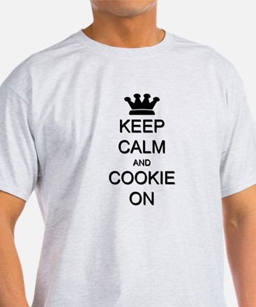 Keep Calm and Cookie On T-Shirt